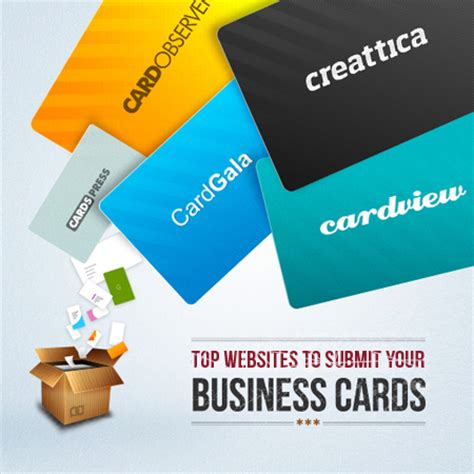 best site to make business cards top websites to submit your business card designs