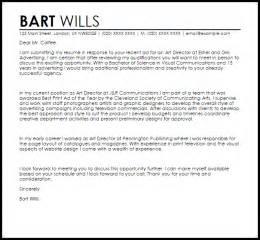 Director Cover Letter by Director Cover Letter Sle Livecareer