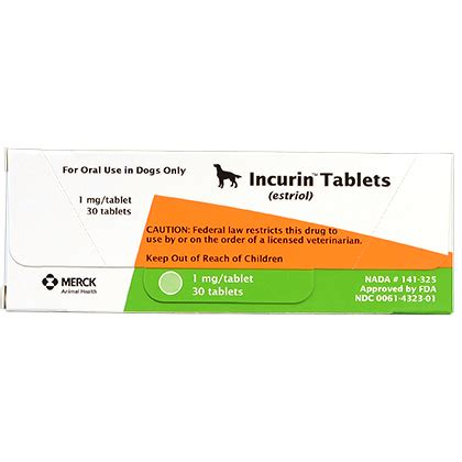 incurin for dogs incurin tablets incontinence treatment for dogs 1800petmeds