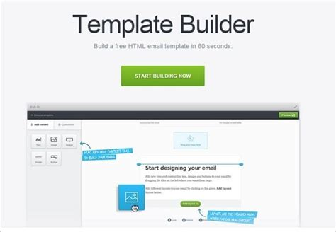 email template builder free email marketing coolest tips tools and resources