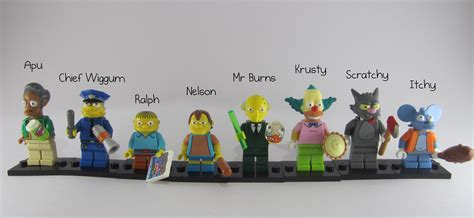simpsons name review lego simpsons collectible minifigures part 2