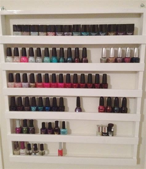 Nailpolish Shelf by How To Build Your Own Nail Rack