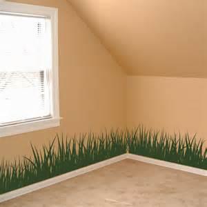 Grass Set Of 4 Wall Decals