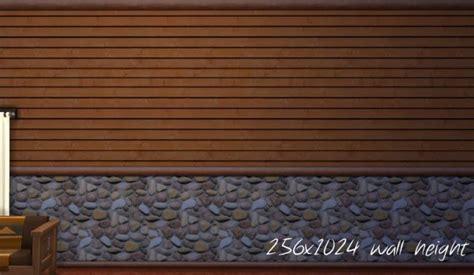 Cabin Interior Walls - log cabin interior wall set 18 colors by mustluvcatz at