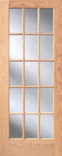 15 Lite Interior Door Oak 15 Lite Interior Doors Homestead Doors