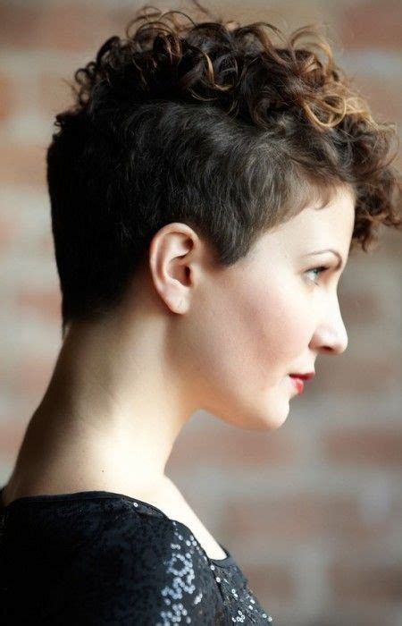 pixie cut with curl perm 18 textured styles for your pixie cut undercut pixie