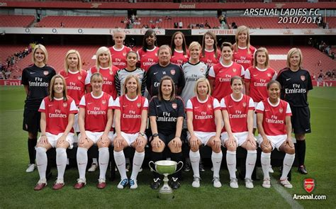 arsenal squad 2010 arsenal ladies squad 2010 2011 wallpaper wallpapers view