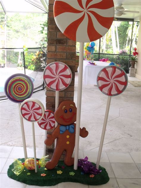 outdoor 8 diameter christmas lollipops land decorations for size i would to make this scary scary