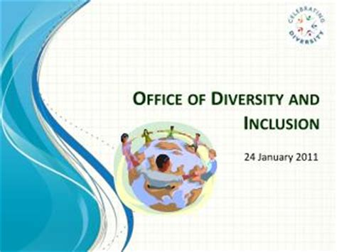 Office Of Diversity And Inclusion by Ppt Age As A Diversity Issue In The Workplace Powerpoint