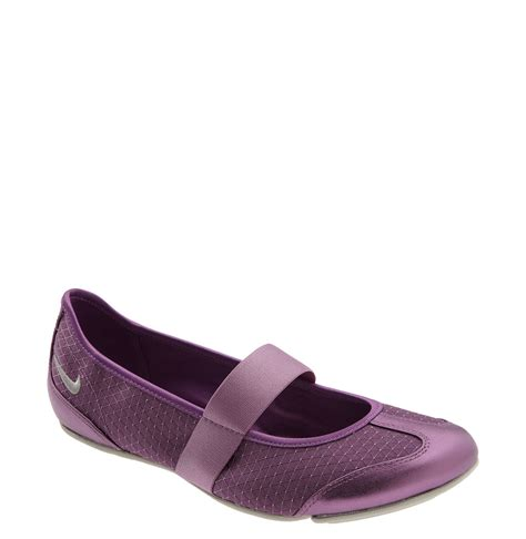 flat shoes nike nike anthena flat in purple lilac silver grey
