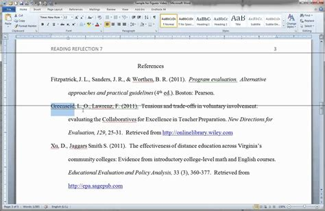 Inserting Citations In An Essay by Formatting Apa Figures In Ms Word