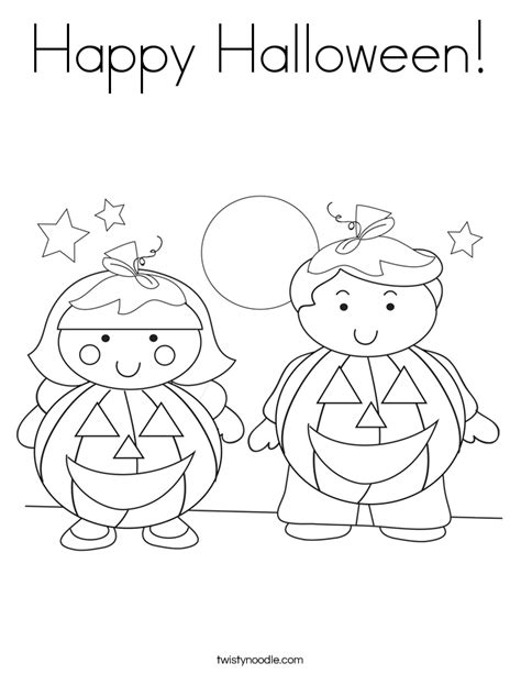 halloween coloring pages twisty noodle happy halloween coloring page twisty noodle
