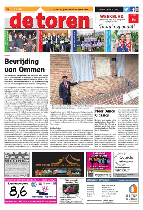 De Toren Week 50 2015 By Weekblad De Toren Issuu by De Toren Week 16 2015 By Weekblad De Toren Issuu