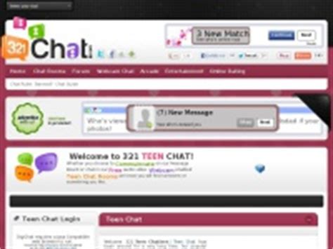 chat rooms 13 321teenchat 321 chat free chat rooms for ages 13 19