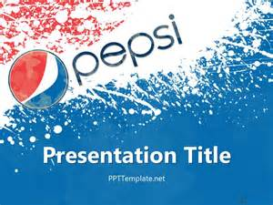 free pepsi ppt template