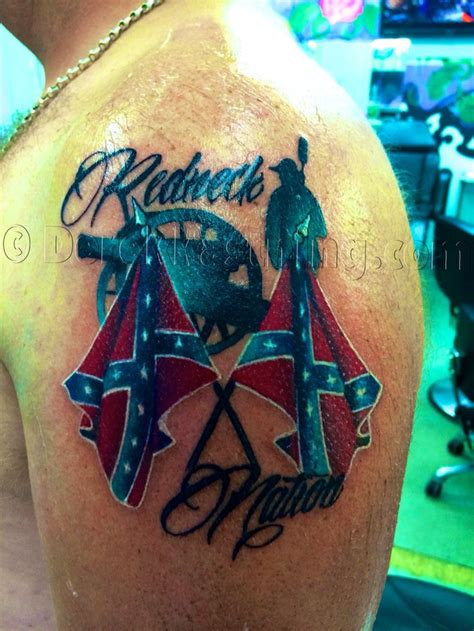 rebel flag tattoo get 20 rebel flag tattoos ideas on without