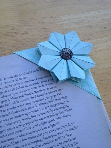 How To Make A Cool Origami Bookmark - 21 origami flower bookmark save my page 30 diy