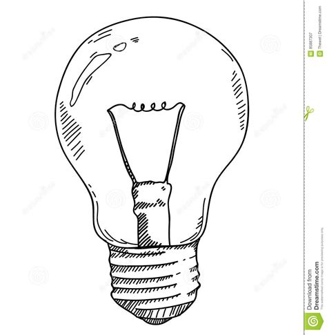 doodle god how to create light bulb light bulb drawing stock illustration illustration