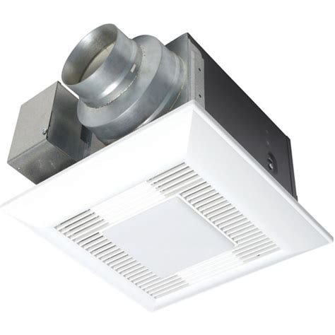 panasonic bathroom fans with lights panasonic whisperlite bathroom fan light 80 cfm
