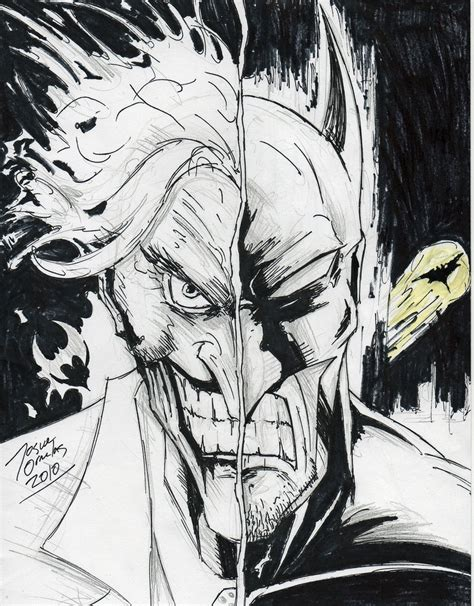 Jim Joker 1b batman joker two sketch by big d artiz on deviantart