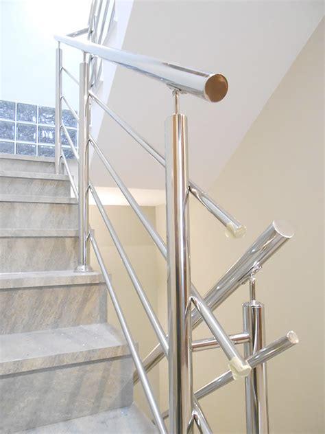barandillas modernas para escaleras barandillas de acero inoxidable para escaleras interiores