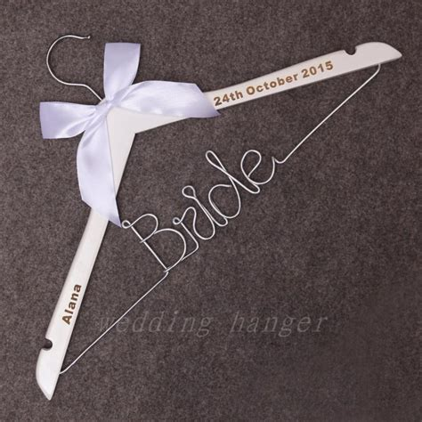 Bridal Wire wire hanger personalized wire hanger