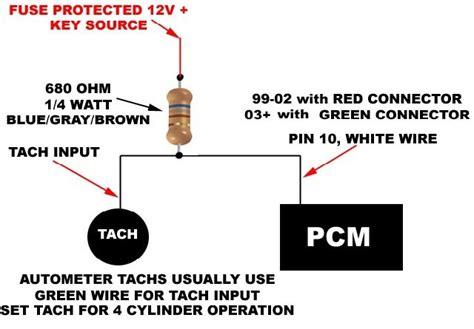 car wiring tach wiring diagram lq9 95 diagrams car alternator