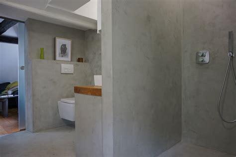 beton cire dusche fugenlose design b 246 den fugenloser putz im bad beton cire