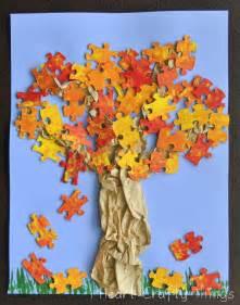 fall tree craft i heart crafty things