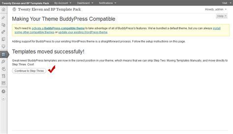 Template Pack Walkthrough Twenty Eleven 183 Buddypress Codex Buddypress Template Pack