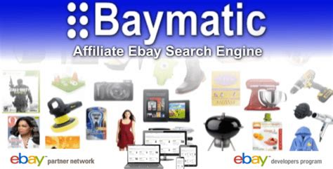 Search Affiliate Baymatic Affiliate Ebay Search Engine By Kktek Codecanyon