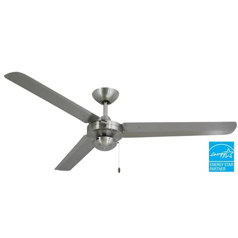 stainless steel outdoor ceiling fan hton bay florentine iv 56 in indoor outdoor natural