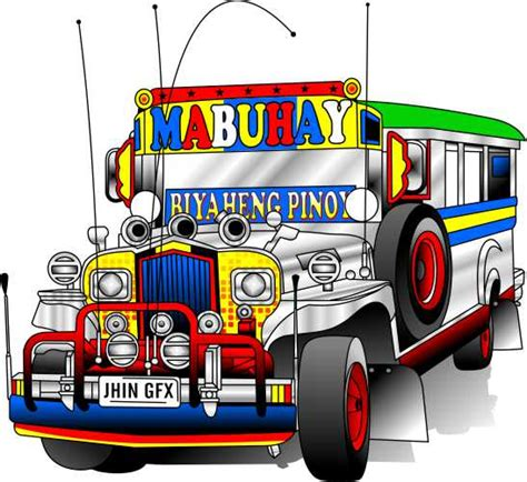 philippine jeep drawing jeepney by jhin22000