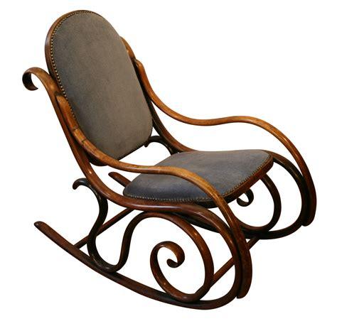 antique bentwood rocking chair austrian thonet style 19thc an antique bentwood rocking chair williams antiques