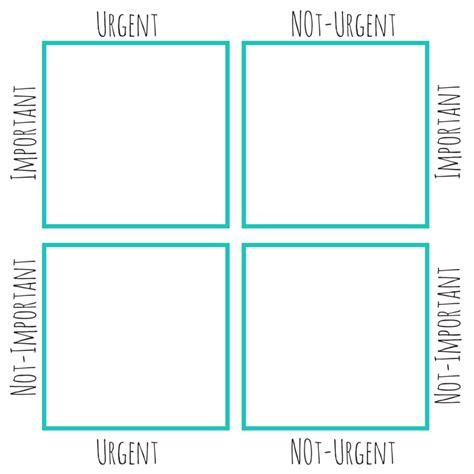 Eisenhower Matrix Template Index Card by How To Use An Eisenhower Box To Make The Best Use Of Your