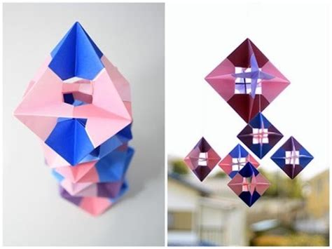 How To Make An Octagon Out Of Paper - origami octagon 2 2 my crafts and diy projects