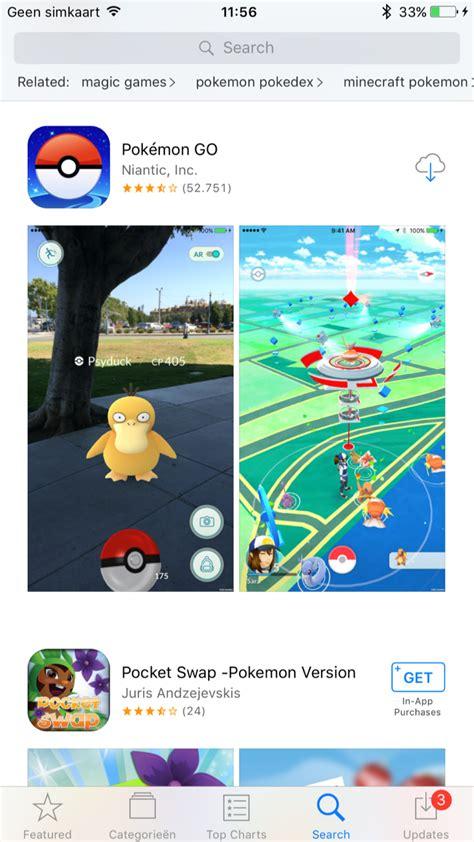 go to app pok 233 mon go installeren op je iphone zo werkt het
