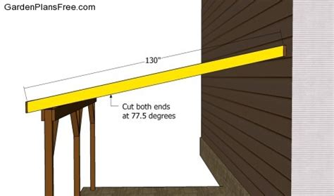 building an attached carport pdf build an attached carport plans plans free