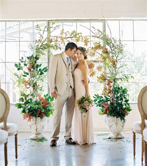 Wedding Arch Indoor by Indoor Greenery Wedding Inspiration Green Wedding Shoes
