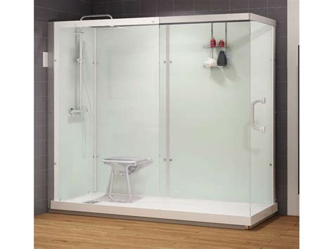 lowes bathroom shower kits shower inserts with seat walk in shower kits ideas best