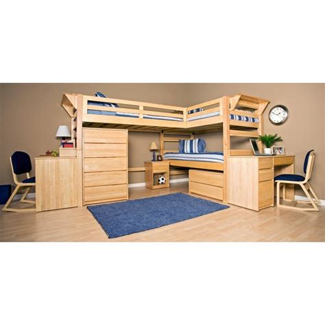twin xl loft bed graduate triple lindy twin xl loft bed with third bed