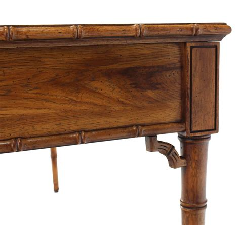 faux bamboo decorative desk at 1stdibs