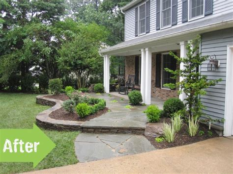 front yard makeover ideas before after michele nate s relaxing front yard