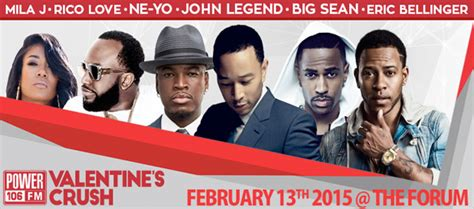 power 106 valentines crush tickets front row live entertainment power 106 announces lineup