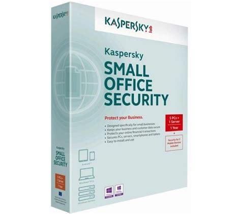 Antivirus Kaspersky Small Office Security kaspersky small office security v4 one server 10 clients 5 mobiles free digital city