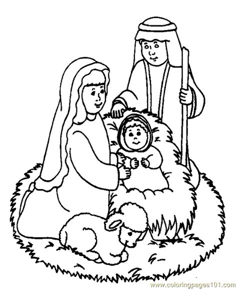 christmas coloring pages religious printable coloring pages religious christmas coloring page 03