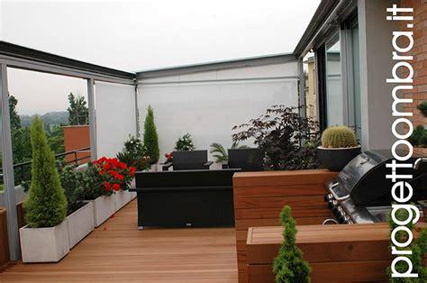 pergole per terrazzi pergolati tecnici amovibili a tenuta neve con tessuto ad