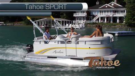 tahoe pontoon boats ratings tahoe pontoon boats sport series youtube
