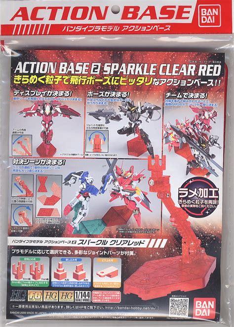 Base Gundam Sparkle Clear gundam base 2 sparkle clear at mighty ape nz