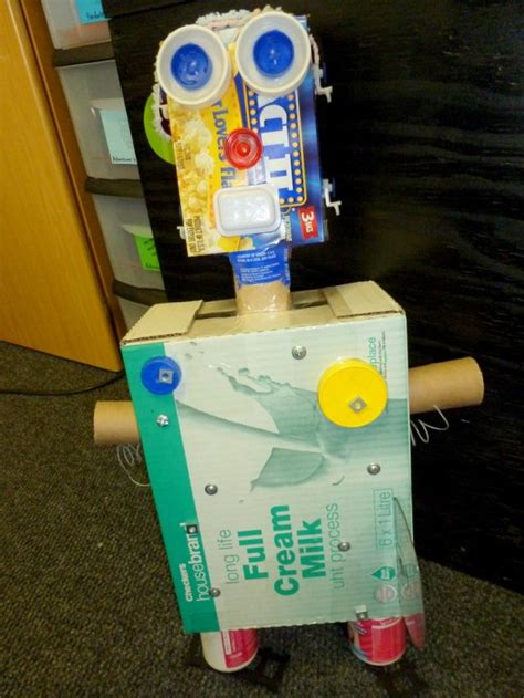 8 Ideas For Recyling Or Reusing Household Trash by Reduce Reuse Recycle Reusing Trash To Create Robots In
